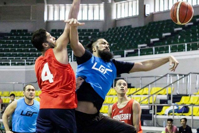 Former pro 'Big Mac' Andaya lead players in LGR Hoops Play for a Cause
