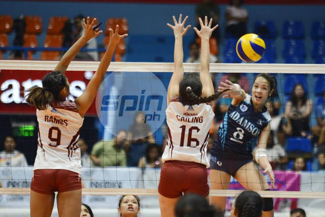 Adamson soars to flying start in PVL Collegiate Conference with five-set stunner over UP