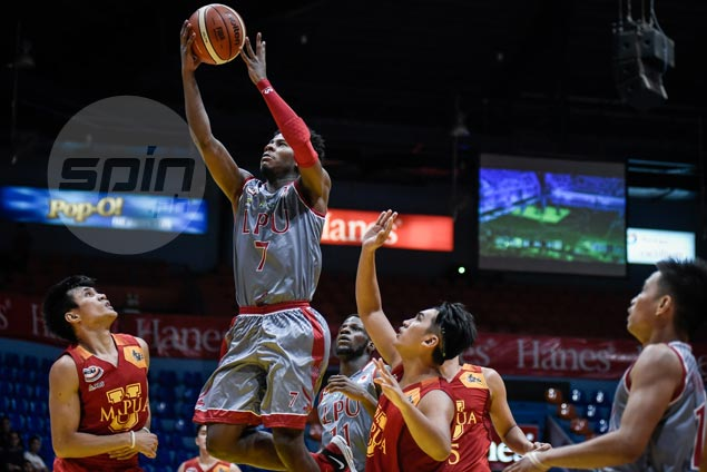 Lyceum Pirates do just enough to hold off pesky Mapua Cardinals and stay unbeaten in NCAA 93