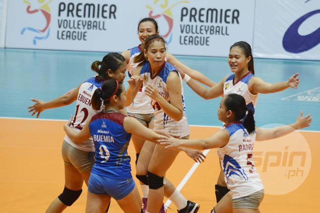 Arellano Lady Chiefs make it two wins in a row with rout of San Beda Lady Red Spikers