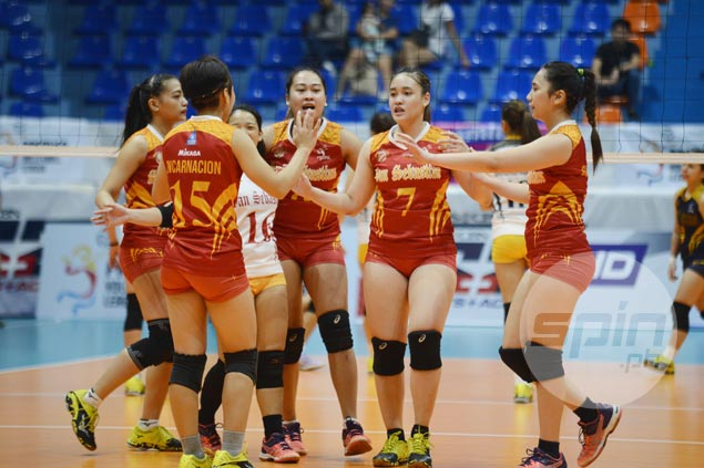 San Sebastian beats JRU in three for first win in PVL Collegiate Conference