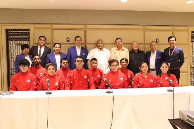 Pinoy athletes ready for action inAsian Indoor and Martial Arts Games in Turkmenistan