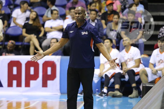 Norman Black says long break no excuse for 'horrible' Meralco start in loss to TNT