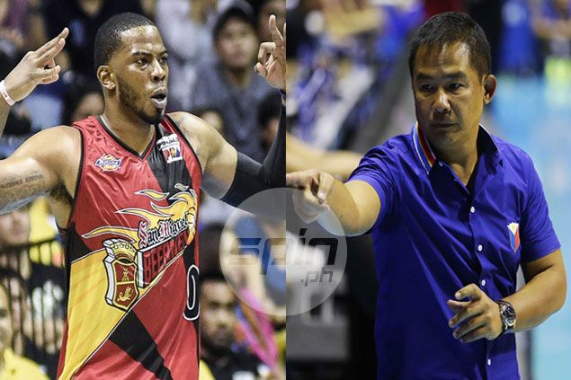 Charles Rhodes accepts Chot Reyes decision to decline former SMB import's offer to play for Gilas