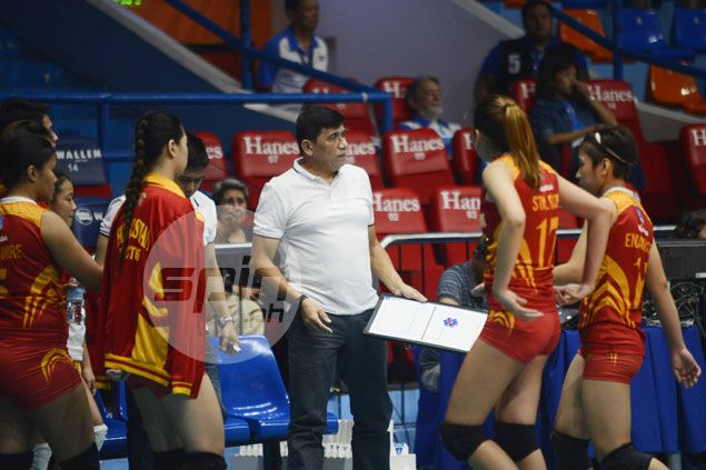 Roger Gorayeb urges San Sebastian players to step up in filling void left by Grethcel Soltones