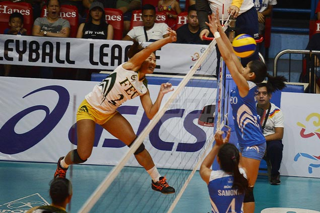 Bernadeth Pons might miss rest of PVL Collegiate Conference to focus on UAAP beach volley stint