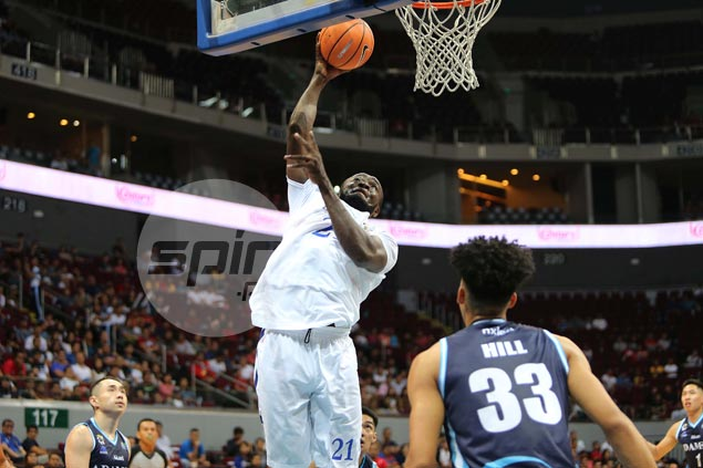 Blue Eagles soar to a huge win over Falcons in Season 80 opening game