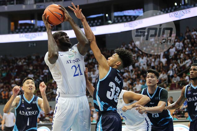 Ateneo not surprised as offseason training pays off with strong Season 80 debut for Chibueze Ikeh