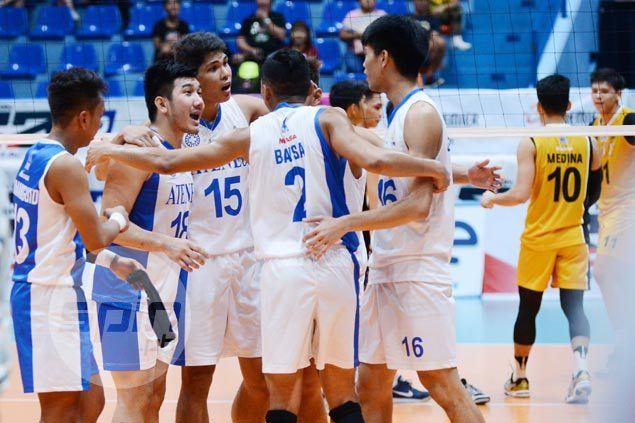 Marck Espejo stars as Ateneo wallops UST for third straight win in PVL Collegiate Conference