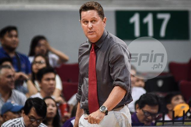 Tim Cone fears surging Ginebra getting complacent: 'We are on the level of going down'