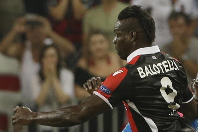 Mario Balotelli bags brace as Nice routs Ligue 1 titleholder Monaco