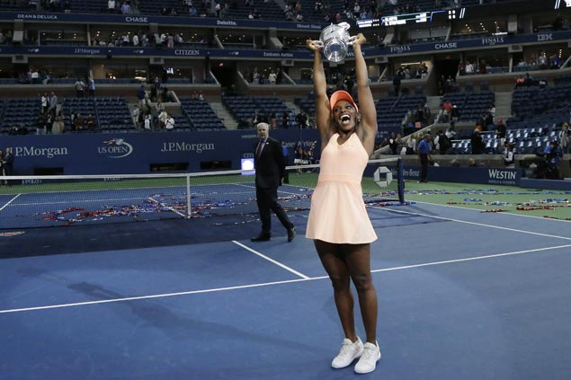 No. 83 Sloane Stephens easily beats Madison Keys in US Open final for first Grand Slam title