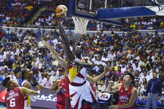 Terrence Watson delivers in debut, dreaded local crew deliver as San Miguel Beer halts Ginebra's win streak