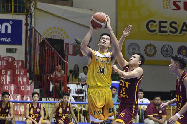 Rookie John Reel Saycon completes four-point play as USC Warriors nip CIT-U Wildcats