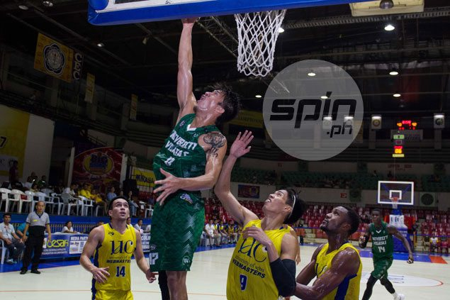 UV Green Lancers blow 21-point lead but recover to beat UC Webmasters