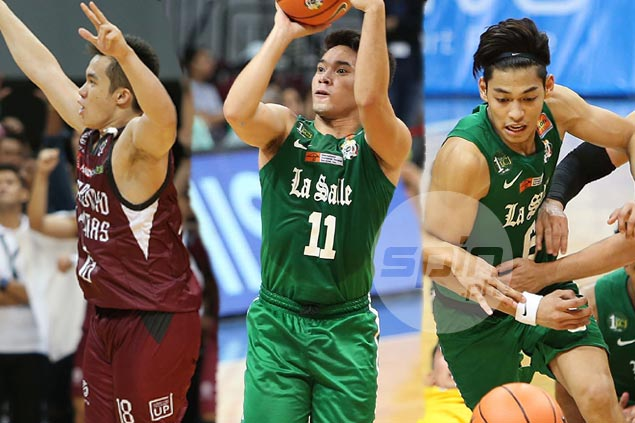 La Salle duo Aljun Melecio, Ricci Rivero on opposite ends of UAAP Season 80 studs and duds
