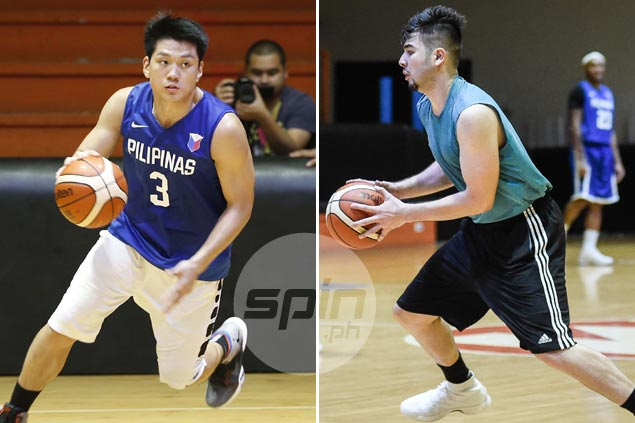 Jeron Teng, Jett Manuel, Andre Paras move a step closer to officially becoming part of Gilas pool