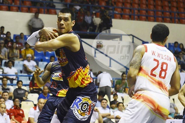 Fully fit Raymond Almazan credits Gilas stint for resurgence in strong showing vs Phoenix