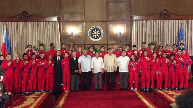 President Duterte vows full support to prod PH athletes to do better in 2019 SEA Games
