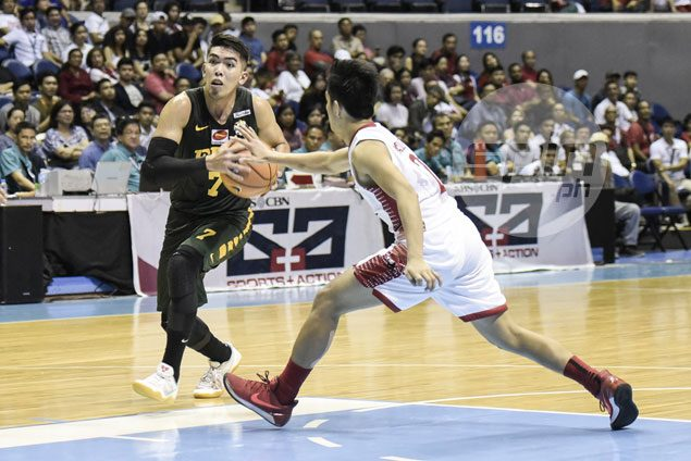 FEU coach Olsen Racela pleased to see progress of surprise scoring leader Ron Dennison