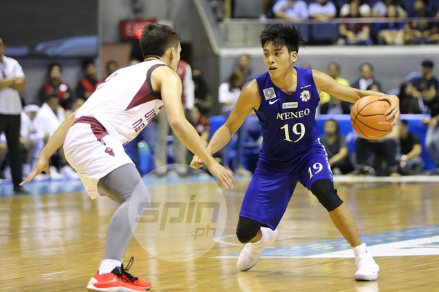 Tyler Tio draws raves with stellar scoring display but Ateneo rookie plays down impressive debut