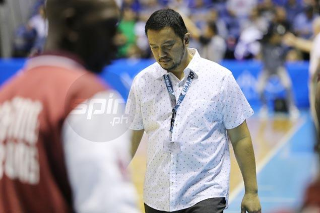 Bo Perasol admits Maroons overmatched but lauds side for effort against Blue Eagles