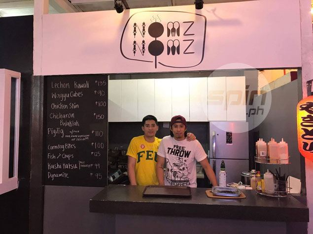Inigo brothers Achie, Axel start early in securing life after basketball with food business venture