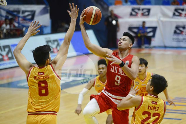 Red Lions hold off gritty Stags charge as San Beda extends win streak to 10