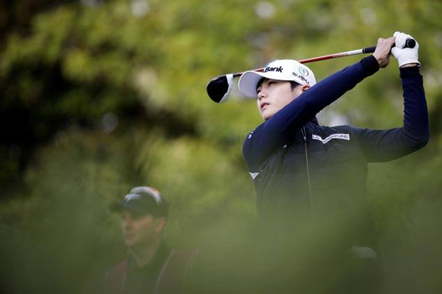 South Korea's Sung Hyun Park first LPGA rookie to gain No. 1 world ranking