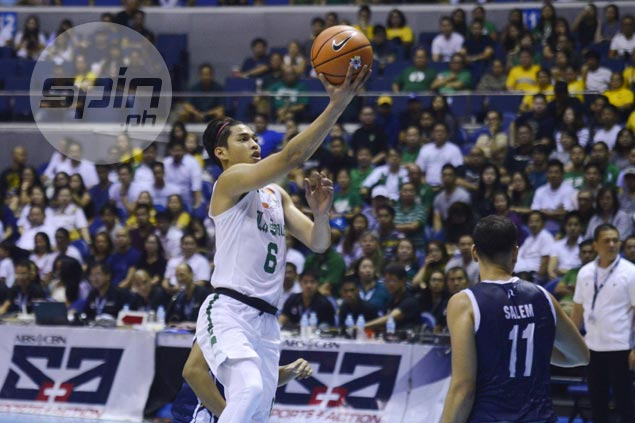 Ricci Rivero atones for awful debut with all-around performance in La Salle win over NU