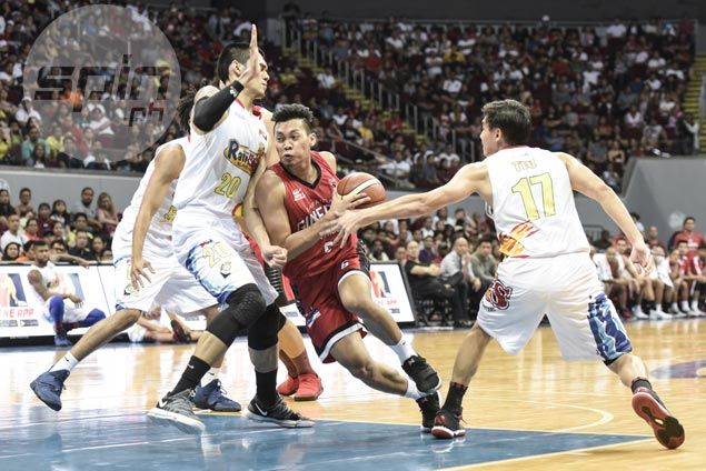 Ginebra holds off Rain or Shine to regain top spot, moves closer to Top Four berth