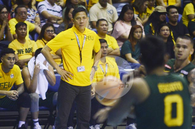 Olsen Racela takes pride in FEU improvement after overcoming shaky start with three-game win run