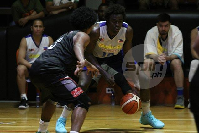 Rod Ebondo being considered as Philippine team takes precaution in light of Bright Akhuetie UAAP eligibility