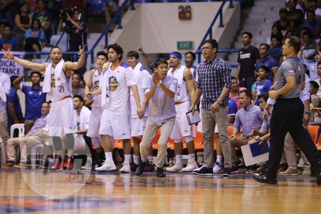 Racela glad TNT still won despite questionable calls: 'Tinechnical na naman ako ng mga favorite'