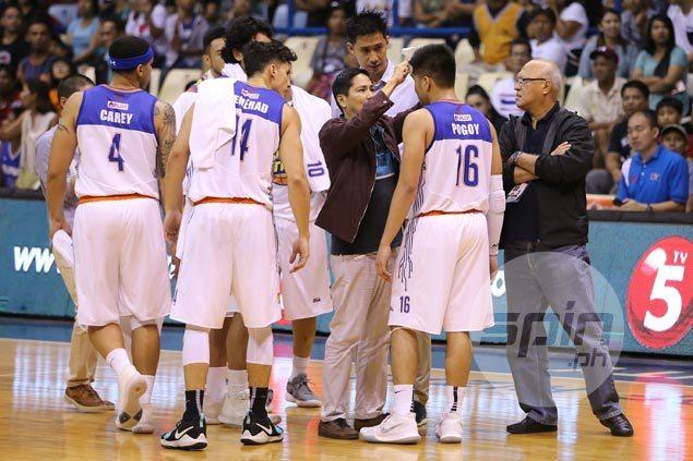 TNT rookie Roger Pogoy shows grit in playing through nasty cut: 'Malayo ito sa bituka'