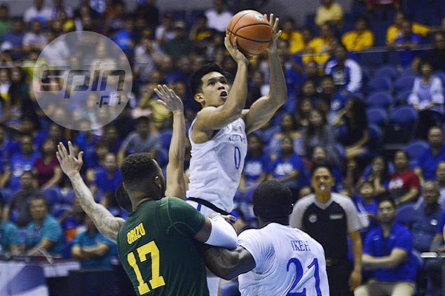 Thirdy Ravena repays Ateneo coach's trust in adding three-point range to lethal slashing game