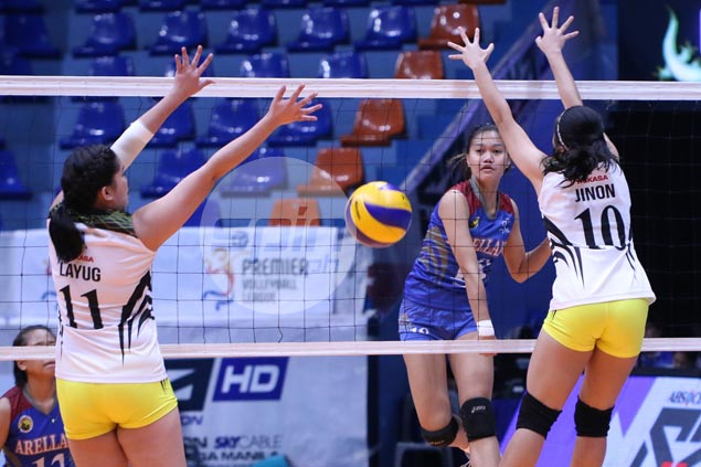 Arellano Lady Chiefs rip TIP Lady Engineers for third win in PVL Collegiate Conference