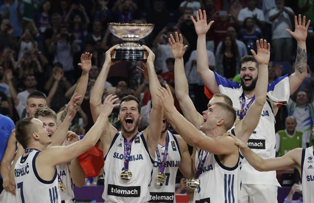 Goran Dragic shows way as Slovenia tops Eurobasket for the first time with victory over Serbia
