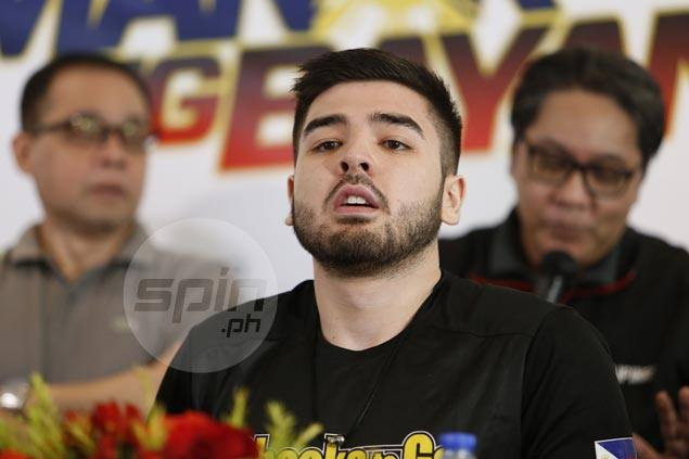Reserve Andre Paras grateful to be in Philippine team pool, vows to be ready when called upon