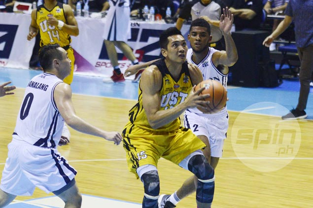 Jeepy Faundo says getting 'posterized' won't stop him from playing role as UST rim protector