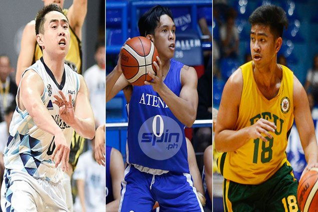 Thirdy Ravena takes lead among studs, Hubert Cani banners duds in UAAP Season 80 week 2