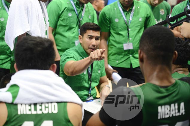 Ayo glad La Salle overcame early distractions, braces for 'dogfight' in Final Four vs Adamson