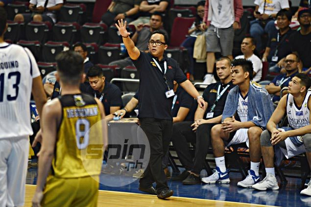 Jamike Jarin says UST a far better team than its winless record as NU fortunate to grind out win