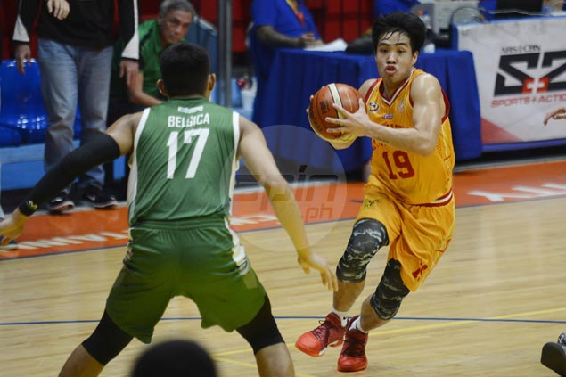 San Sebastian Stags level record and move to joint fourth with huge win over St. Benilde Blazers