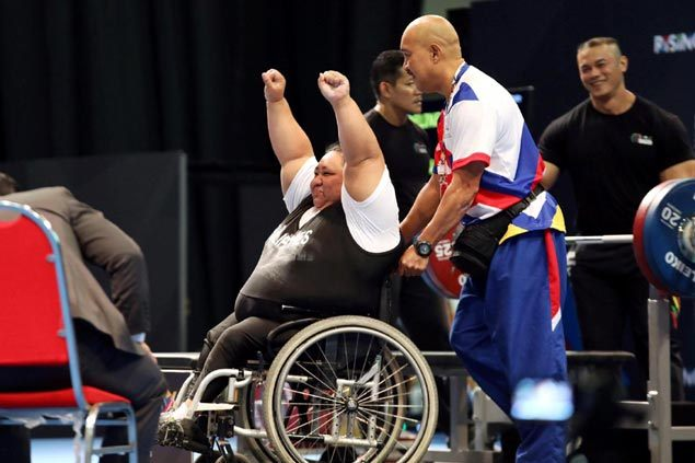 Powerlifter Dumapong-Ancheta leads five-gold haul to hike PH golden tally to 16 in Asean Para Games