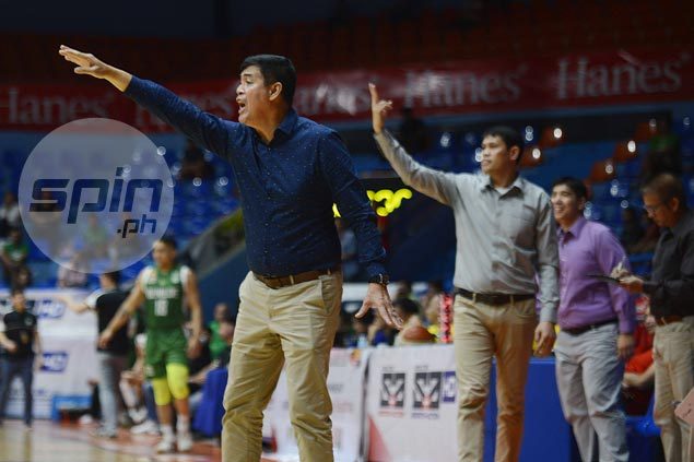 Egay Macaraya glad to see star Michael Calisaan's hustle, energy rub off on Stags