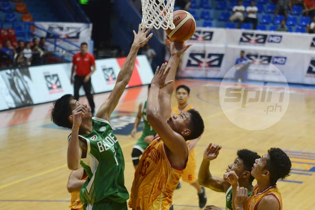 Damie Cuntapay shows way as Staglets score upset over LSGH Greenies in NCAA Juniors