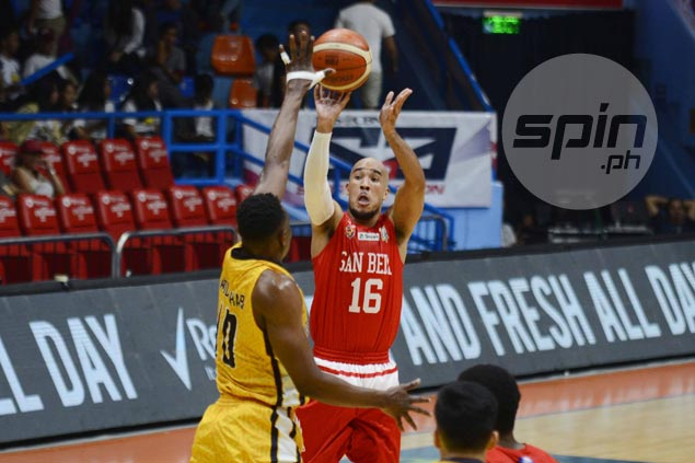 Davon Potts comes up clutch as San Beda holds off JRU for 11th straight win