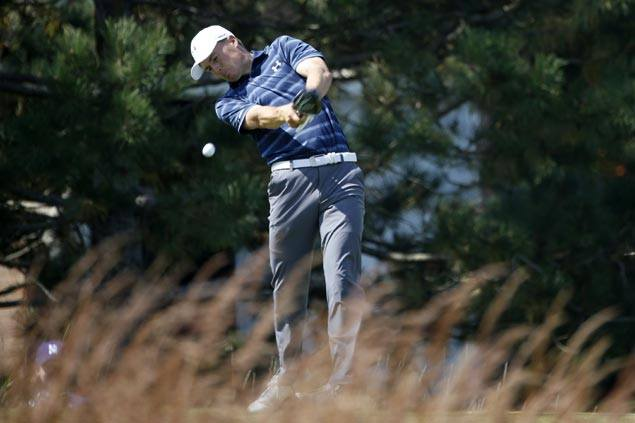 Jordan Spieth on course for $10M bonus with steady start behind Kyle Stanley at East Lake