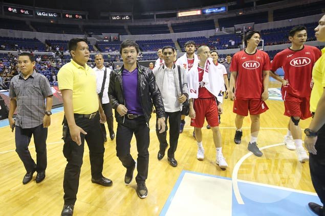 Manny Pacquiao parts ways with Kia, stays mum on next PBA step amid offer to join Blackwater